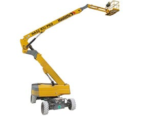 diesel articulating boom lift ha32rtj pro - Articulating booms for Sale
