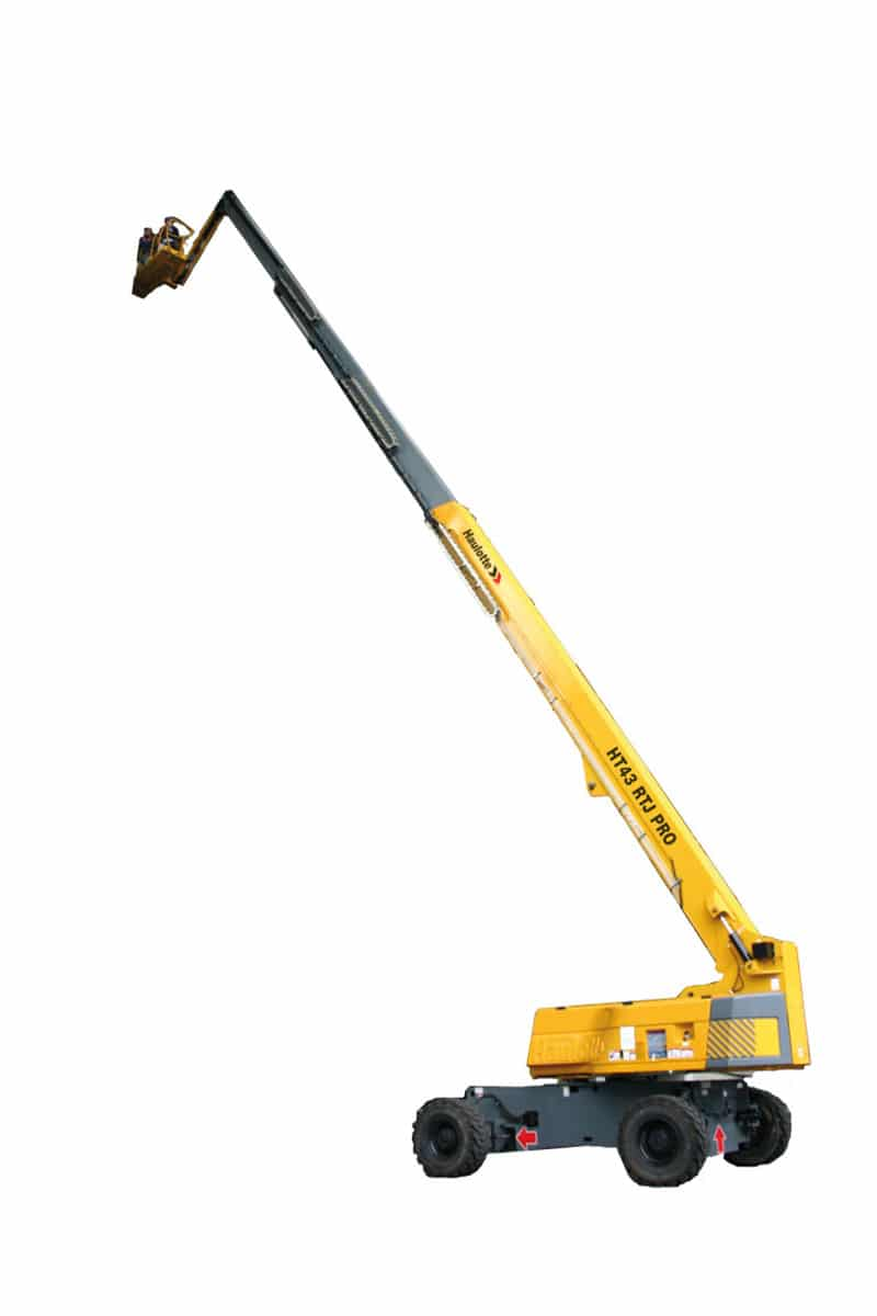 HT43 RTJ PRO cherry picker sterling access image 01 - HT43RTJ Pro - Telescopic Boom Lift For Hire