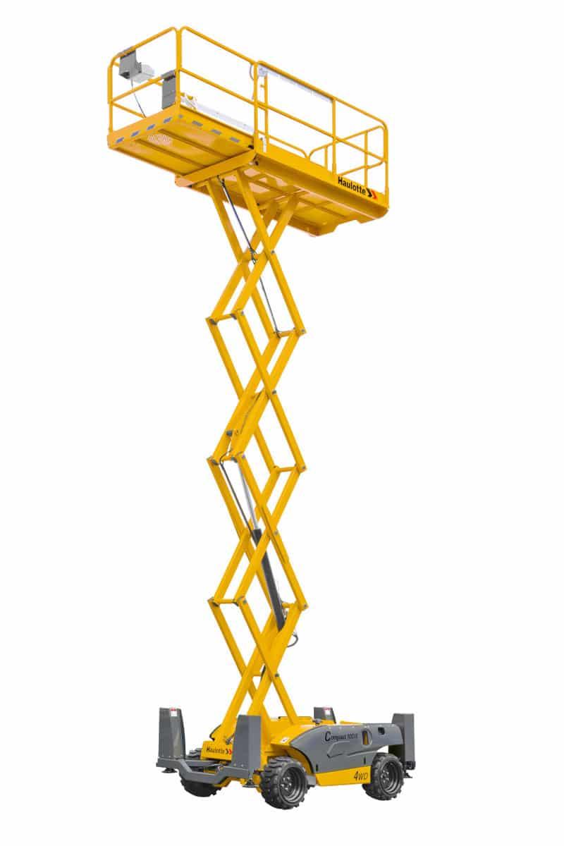 compact 12 dx diesel scissor lift sterling access image 01 - Compact 12 DX - Diesel Scissor Lift For Hire