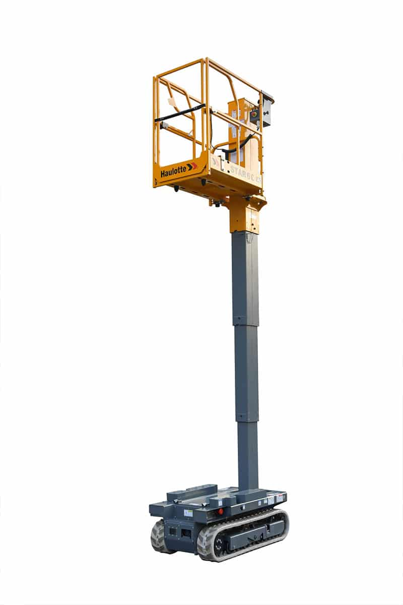 star 6 crawler 01 - Star 6 Crawler - Electric Vertical Masts For Hire