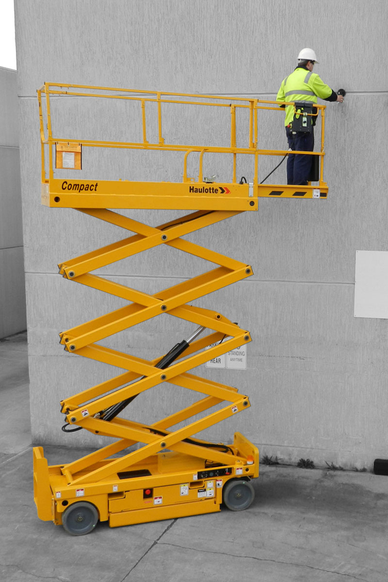 sterling access compact 10n electric scissor lift image 03 - Compact 10N - Electric Scissor Lift For Hire