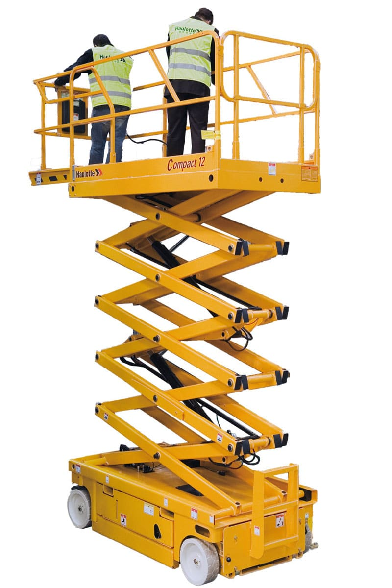 sterling access compact 12 electric scissor lift image 01 - Compact 12 - Electric Scissor Lift For Hire