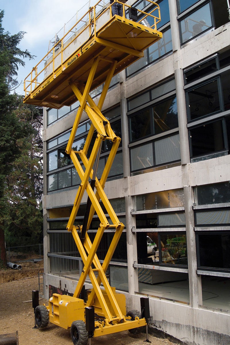 sterling access h12 sx diesel scissor lift for hire image 02 - Lifting Equipment for Sale
