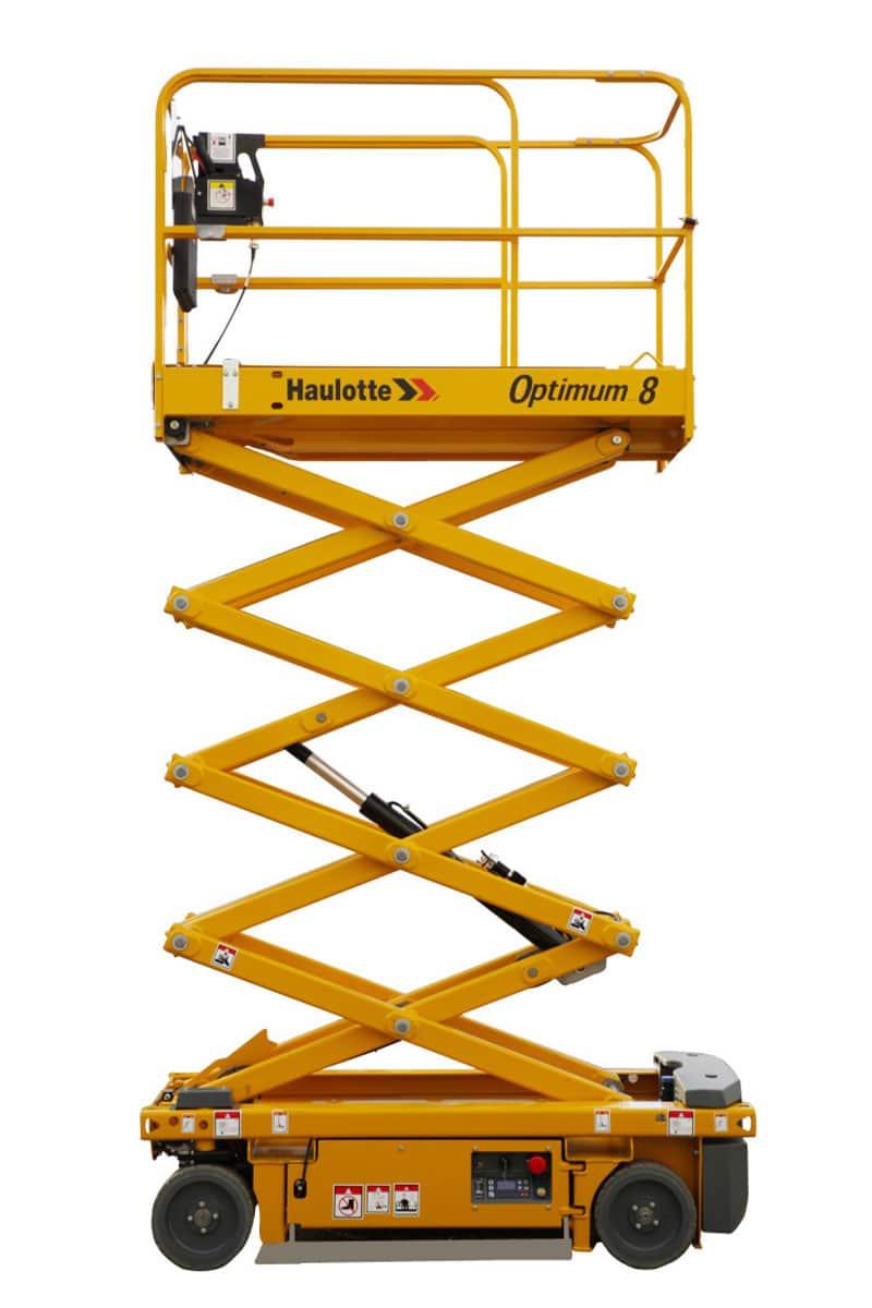 sterling access optimum 8 electric scissor lift image 01 - Optimum 8 - Electric Scissor Lift For Hire